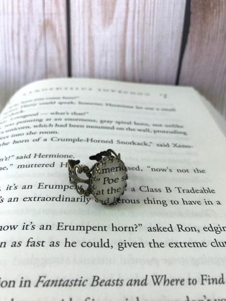 Edgar Allan Poe Ring