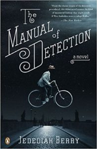 Book cover of The Manual of Detection by Jedidiah Berry