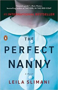 The Perfect Nanny by Leila Slimani book cover