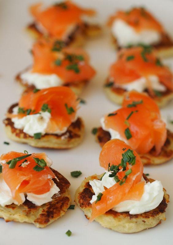 Burns Night party salmon appetizer idea | Bookriot.com