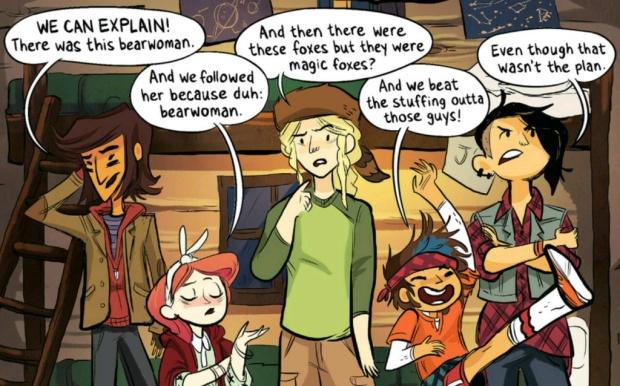 funny lumberjanes panel