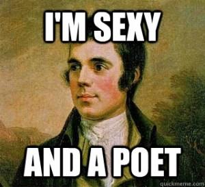 Robert Burns Sexy and a Poet   Bookriot.com