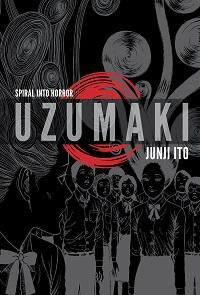 Uzumaki volume 1 cover - Junji Ito