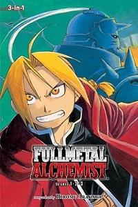 Fullmetal Alchemist volume 1 cover by Hiromu Arakawa