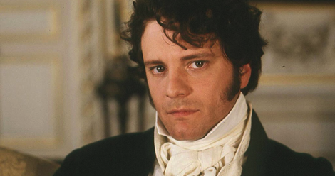 Colin Firth as Mr. Darcy in the 1995 miniseries Pride and Prejudice