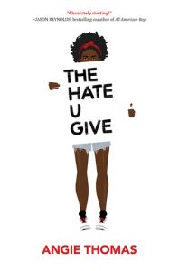 the hate u give by angie thomas book cover