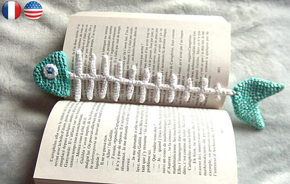 fishbones book mark
