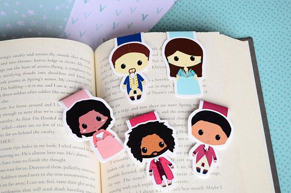 hamilton bookmarks
