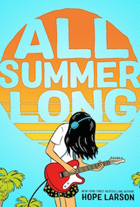 ALL SUMMER LONG BY HOPE LARSON cover