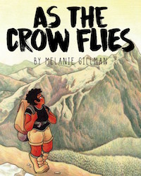 AS THE CROW FLIES BY MELANIE GILLMAN cover