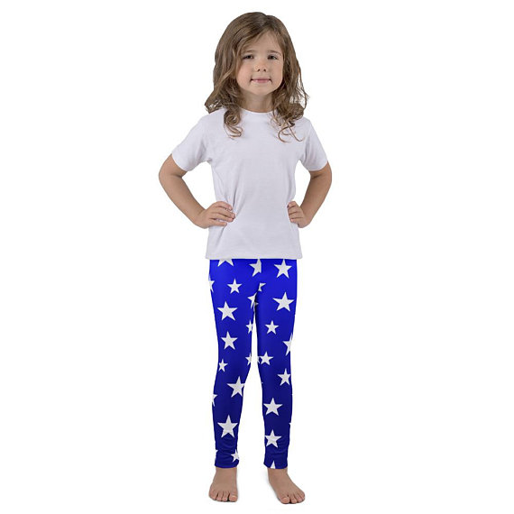 wonder woman kid's leggings