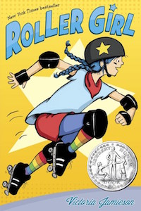 ROLLER GIRL BY VICTORIA JAMIESON cover