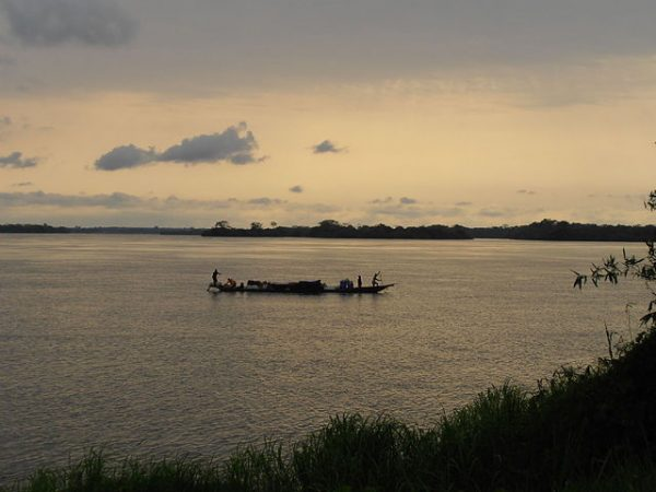 Anthony Bourdain and the Yangambi Research Library on the Congo River
