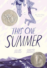 This One Summer by Jillian and Mariko Tamaki cover