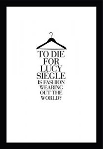 to die for by lucy siegle cover