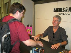 Anthony Bourdain Book Signing