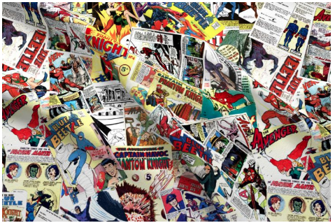 comic book fabric