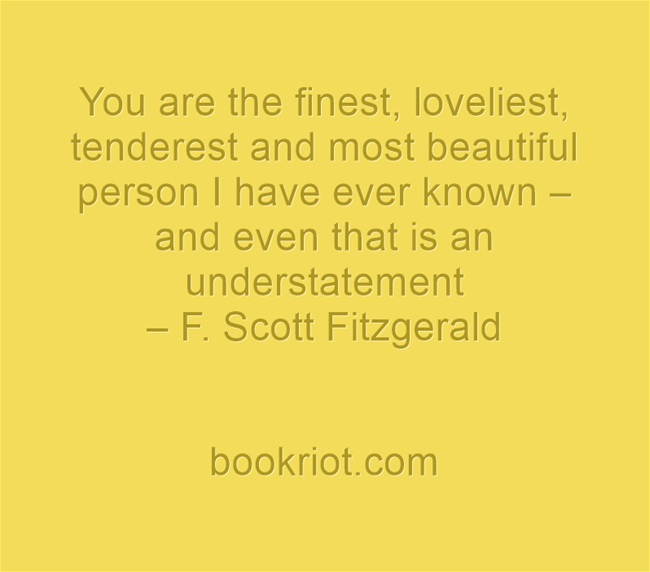 f scott fitzgerald wedding quote