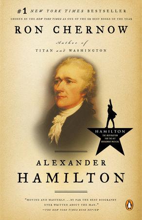 Hamilton by Ron Chernow Book Cover