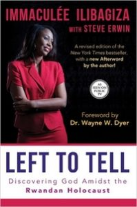 Left to Tell Immaculee cover