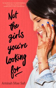 Not The Girls You're Looking For Cover Image from An Interview With Aminah Mae Safi | bookriot.com