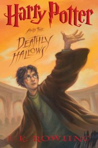 harry potter and the deathly hallows by jk rowling cover