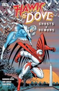 hawk and dove ghosts and demons book cover