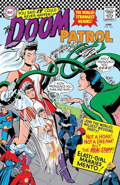 Doom Patrol book cover