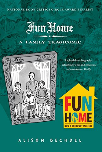 fun home by alison bechdel cover image