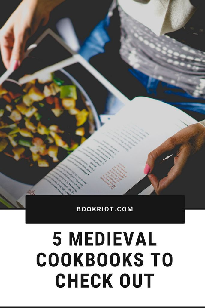 Check out these 5 Medieval cookbooks.    book lists | cookbooks | medieval books | medieval cookbooks | historical cookbooks