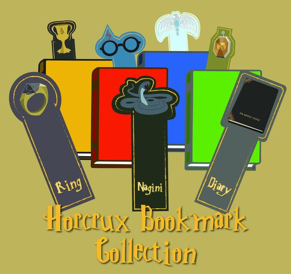 Horcrux Printable Bookmarks by Jamsnovelties