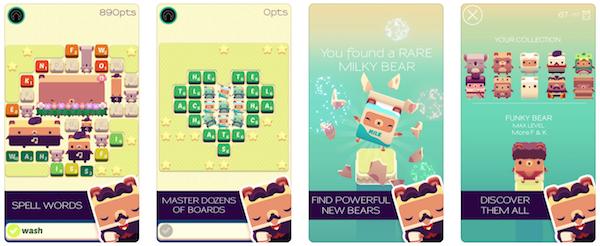 Alphabear game app screenshot