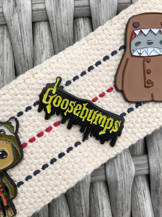 Goosebumps Enamel Pin