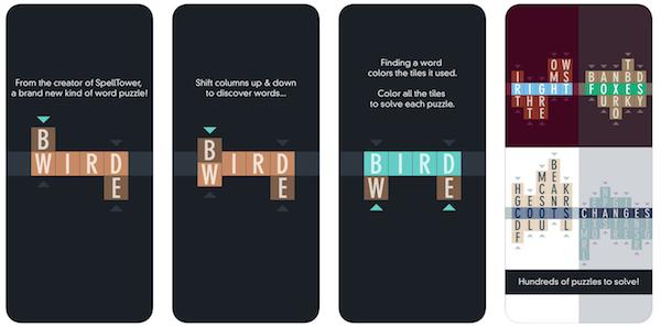 Typeshift game app screenshot