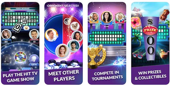 Wheel of Fortune game app screenshot