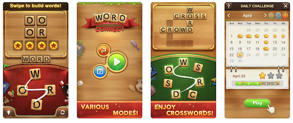 Word Connect game app screenshot