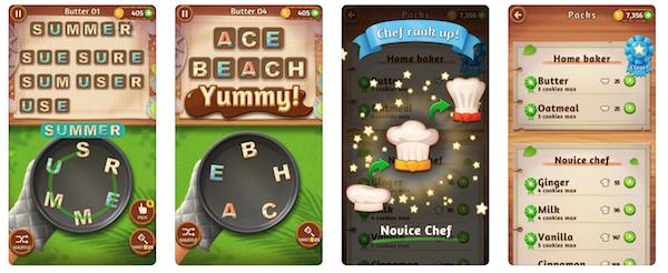 Word Cookies game app screenshot