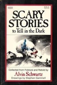 Cover of Scary Stories to Tell in the Dark by Allen Schwartz