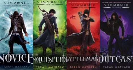 An Interview With Taran Matharu, Author of THE SUMMONER Series