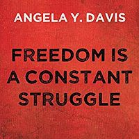 Audiobook cover of Freedom is a Constant Struggle by Angela Y. Davis