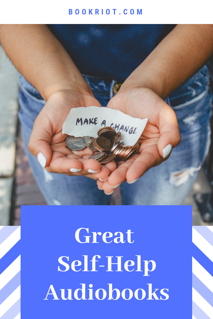Up your resolution game with these excellent self-help audiobooks. self help   self help books   self-help audiobooks   audiobook lists