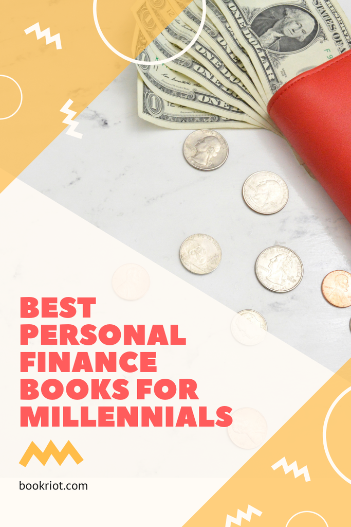 The best personal finance books for millennials. Get smarter with your money. book lists | personal finance | money books | personal finance books | books about getting better with your money | books for millennials | adulting books