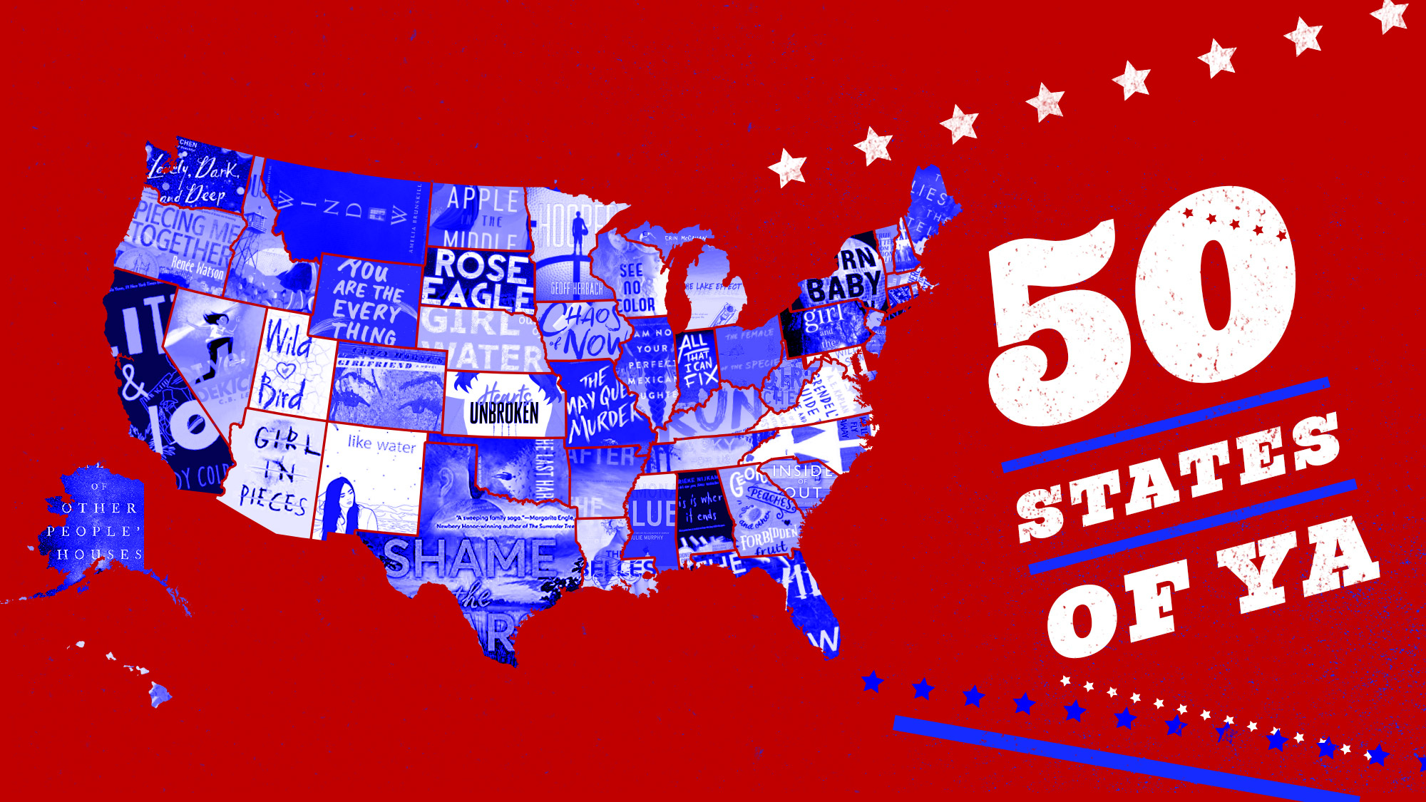 50 States of YA: Young Adult Books Set In Each U S  State | Book Riot