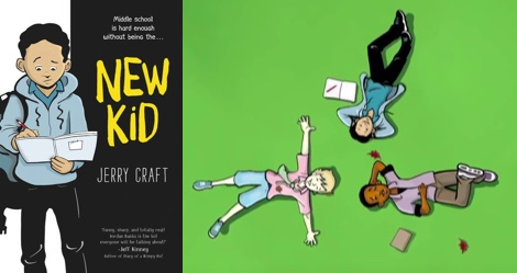 Featured Book Trailer: NEW KID by Jerry Craft