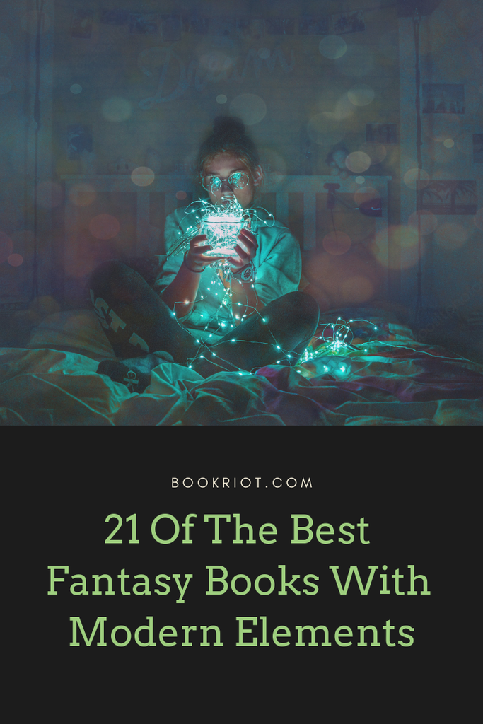 21 of the best fantasy books with modern elements. book lists | fantasy books | books to read | great books to read