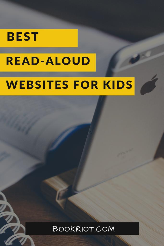 The best read-aloud websites for kids. read aloud websites | read-aloud websites for kids | best websites for kids | best book websites for kids