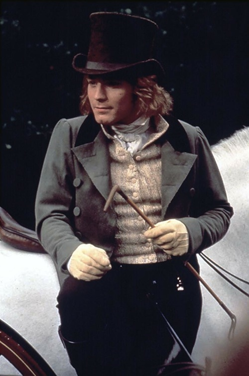 Ewan McGregor as Frank Churchill in the 1996 movie Emma