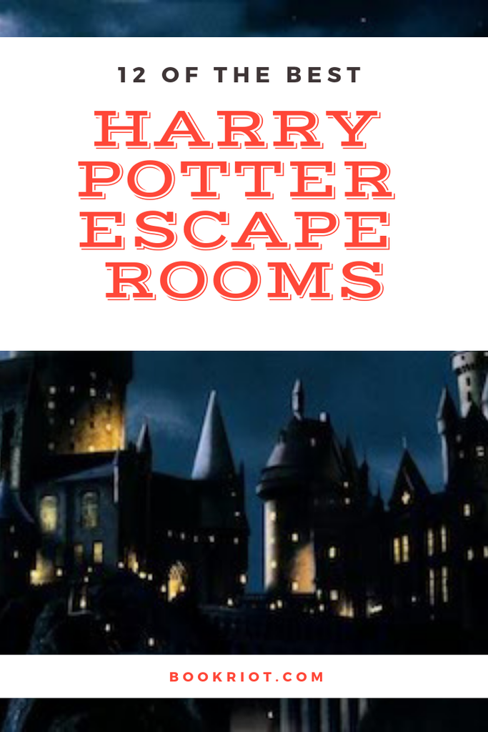 12 of the best Harry Potter Escape Rooms for devoted fans. escape rooms | cool escape rooms | locked room challenges | harry potter | harry potter escape rooms | bookish escape rooms | literary escape rooms