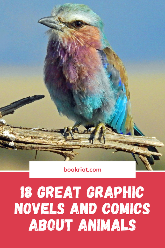 Read your way into these excellent graphic novels and comics all about our animal friends. comics | book lists | graphic novels | comics about animals | graphic novels about animals | animal books