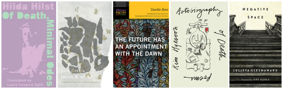 Best Translated Book Award Shortlist Poetry